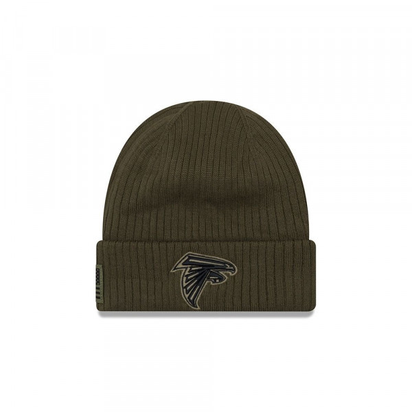 premium selection 29158 7718e New Era Atlanta Falcons 2018 Salute To Service NFL Beanie   TAASS.com Fan  Shop
