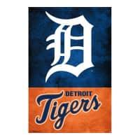 Detroit Tigers Team Logo MLB Poster