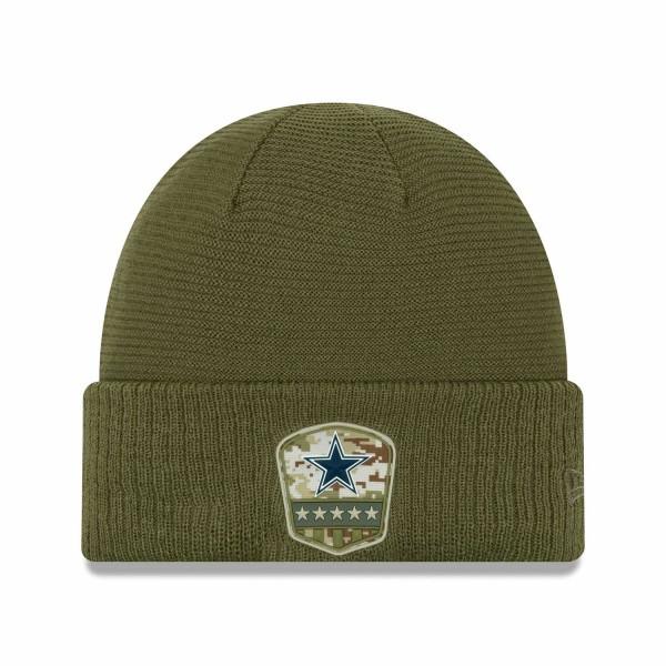 Dallas Cowboys 2019 On-Field Salute to Service NFL Beanie Wintermütze