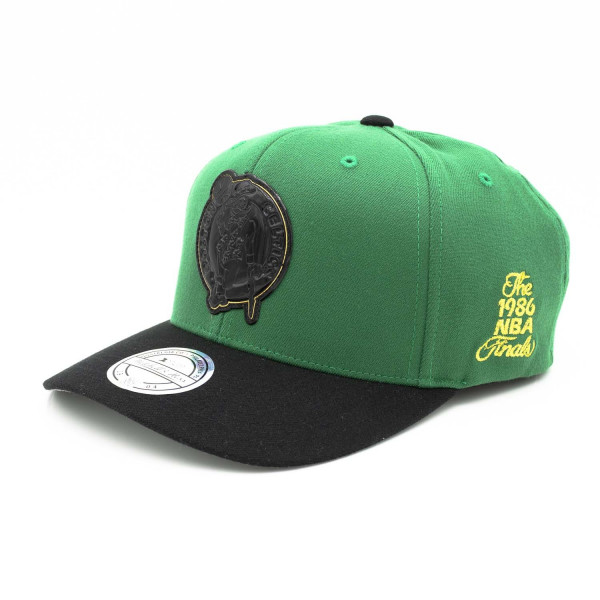 big sale f0116 ff9e9 Mitchell   Ness Boston Celtics 110 FlexFit Presto Snapback NBA Cap Green    TAASS.com Fan Shop