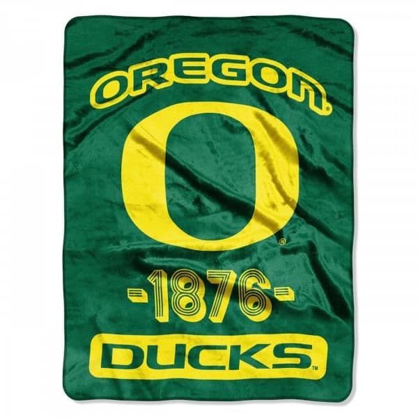 Oregon Ducks Super Plush NCAA Decke