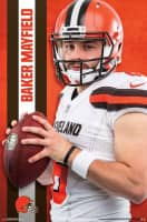 Baker Mayfield Cleveland Browns Superstar NFL Poster