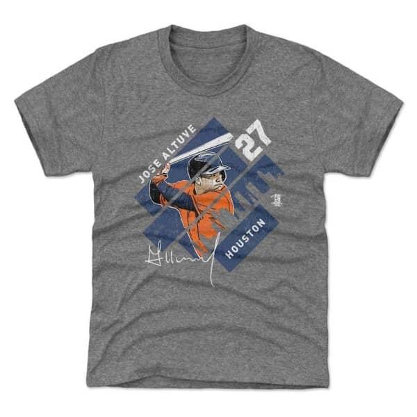 Jose Altuve Houston Stripes MLB T-Shirt