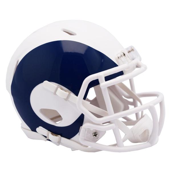 Los Angeles Rams AMP Alternate NFL Speed Mini Helm