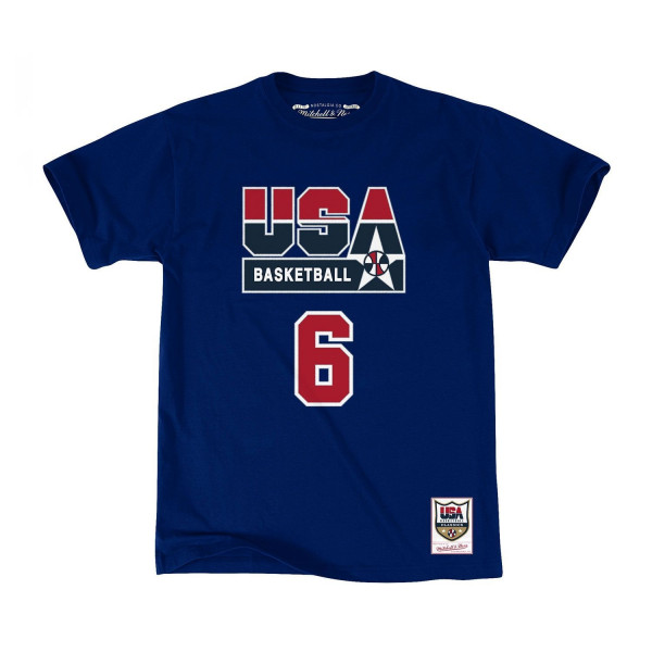 Patrick Ewing #6 1992 Team USA Dream Team Basketball T-Shirt