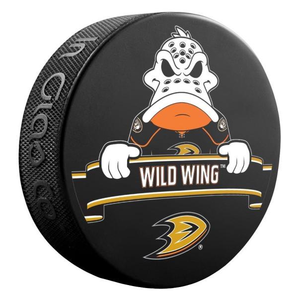 Anaheim Ducks Wild Wing Mascot NHL Souvenir Puck