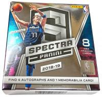 2018/19 Panini Spectra Basketball Hobby Box NBA