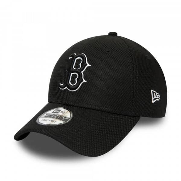 Boston Red Sox Diamond Era New Era 9FORTY Adjustable MLB Cap