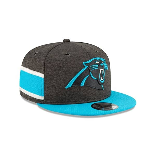 Carolina Panthers 2018 NFL Sideline 9FIFTY Snapback Cap Home