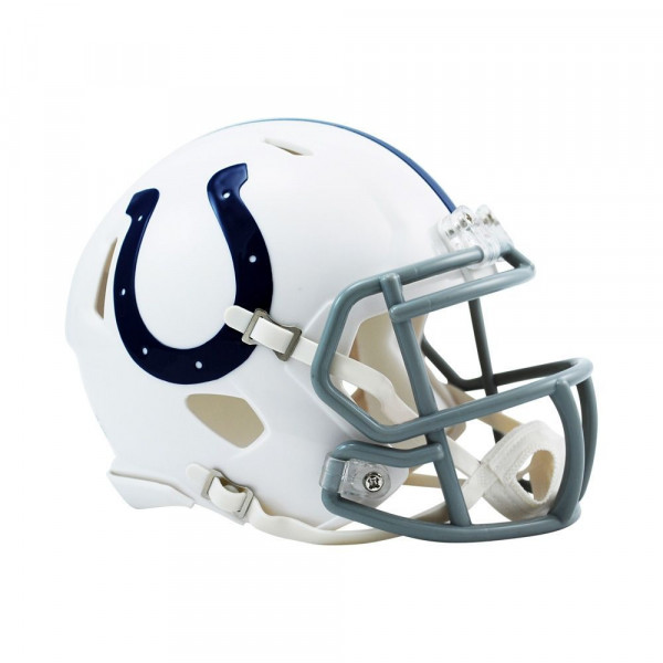 Indianapolis Colts American Football NFL Speed Mini Helm
