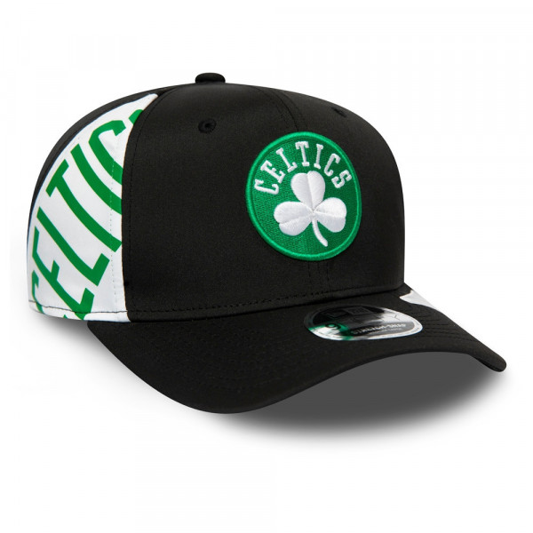 Boston Celtics Side Word 9FIFTY Stretch-Snap NBA Cap