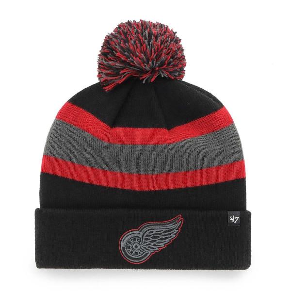 Detroit Red Wings Black Tonal '47 Breakaway NHL Wintermütze