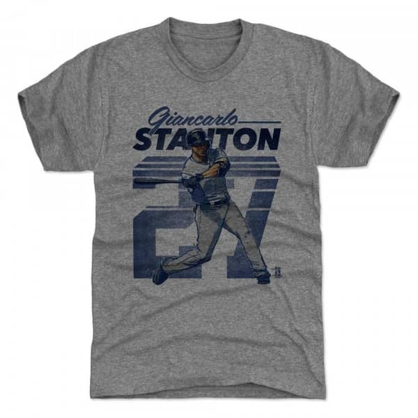 Giancarlo Stanton New York Retro 27 MLB T-Shirt