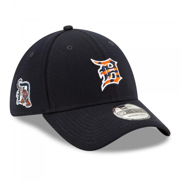 Detroit Tigers 2021 MLB Batting Practice New Era 39THIRTY Flex Cap