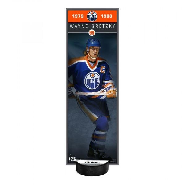 Wayne Gretzky Edmonton Oilers NHL Alumni Deco Plaque & Holder