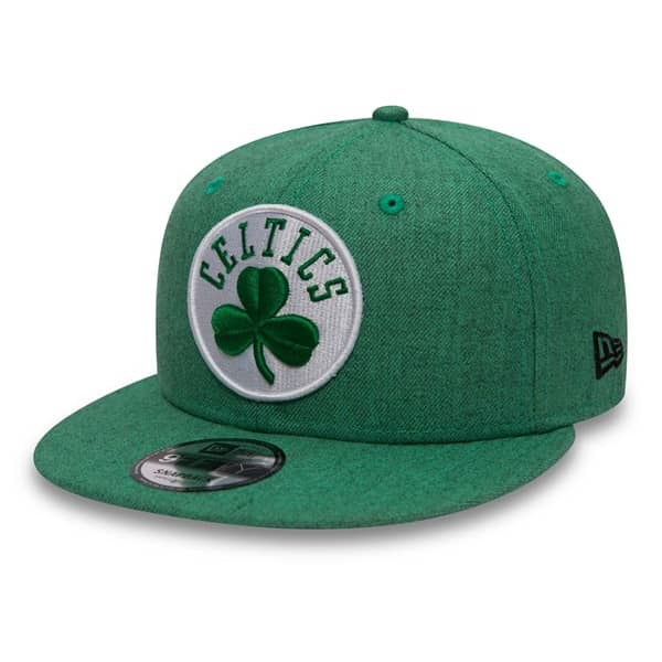 339385252c3 New Era Boston Celtics Team Heather 9FIFTY Snapback NBA Cap Grün ...