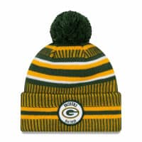 Green Bay Packers 2019 NFL Sideline Sport Knit Wintermütze Home