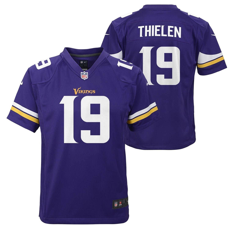 a965aa25 Adam Thielen #19 Minnesota Vikings Youth NFL Jersey (KIDS)
