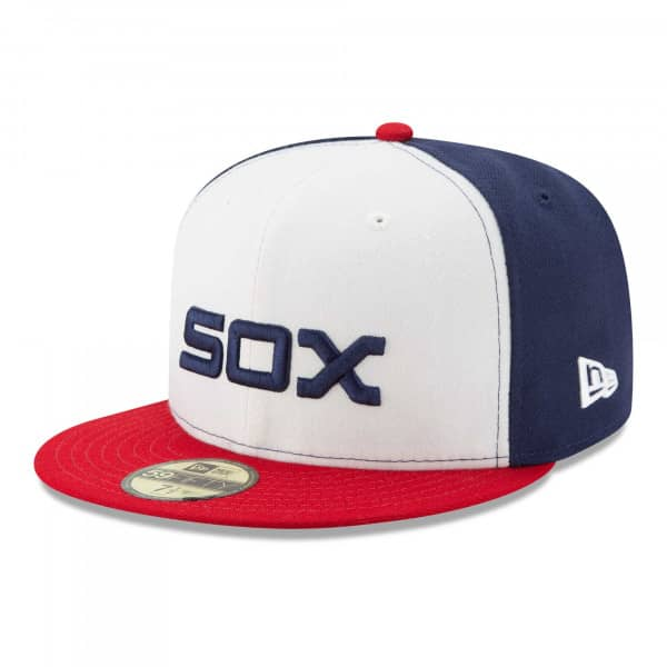Chicago White Sox Authentic New Era 59FIFTY Fitted MLB Cap Alternate