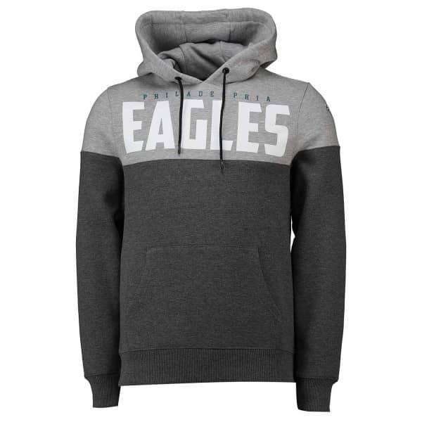 Philadelphia Eagles Cut & Sew Sweatshirt NFL Hoodie