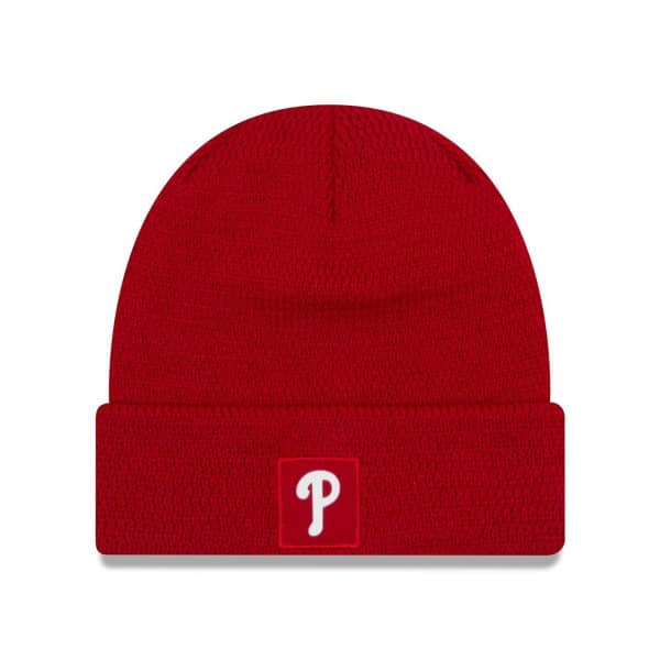 Philadelphia Phillies 2018 On-Field Sport Knit MLB Wintermütze
