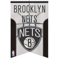 Brooklyn Nets Premium Felt NBA Banner