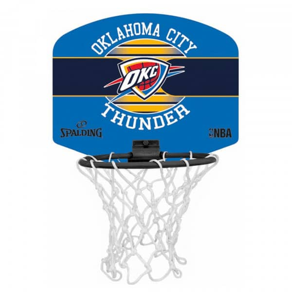 Oklahoma City Thunder Miniboards NBA Basketball Set
