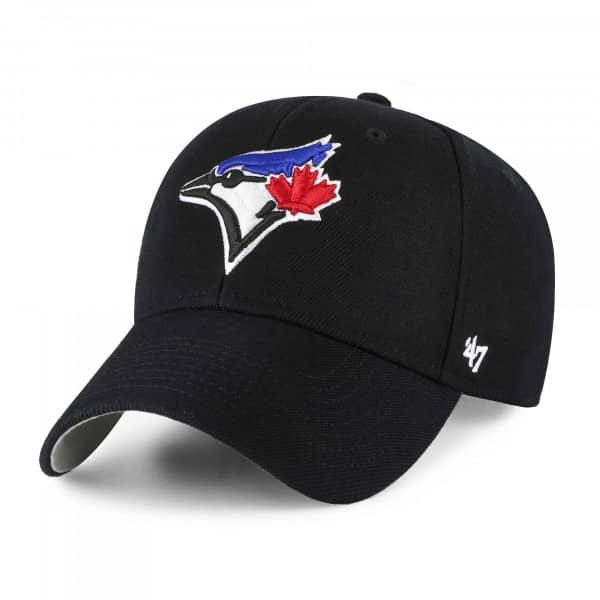 Toronto Blue Jays '47 MVP Adjustable MLB Cap Schwarz
