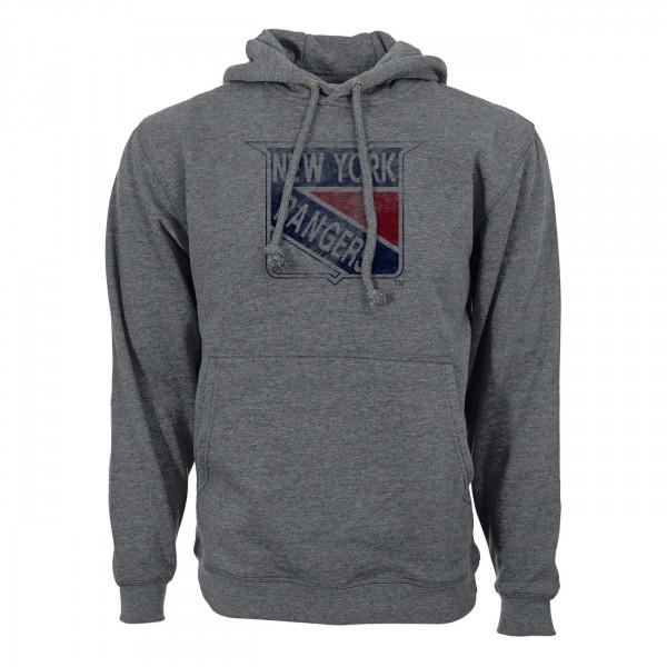 New York Rangers Vintage Retro NHL Hoodie