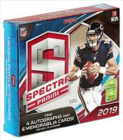 2019 Panini Spectra Football Hobby Box NFL