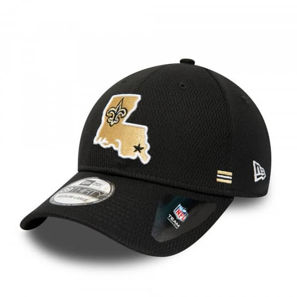 New Orleans Saints Unofficial 2020 NFL Sideline New Era 39THIRTY Flex Cap Home