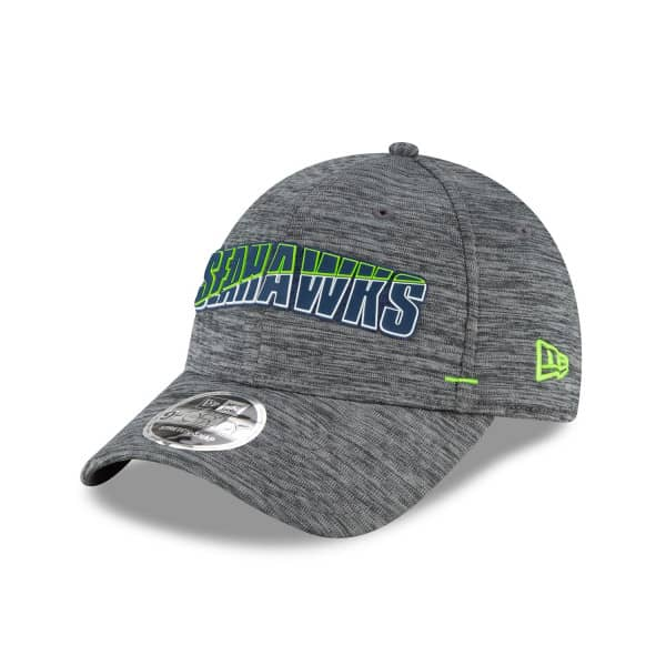 Seattle Seahawks 2020 Summer Sideline New Era Stretch-Snap 9FORTY NFL Cap Grau