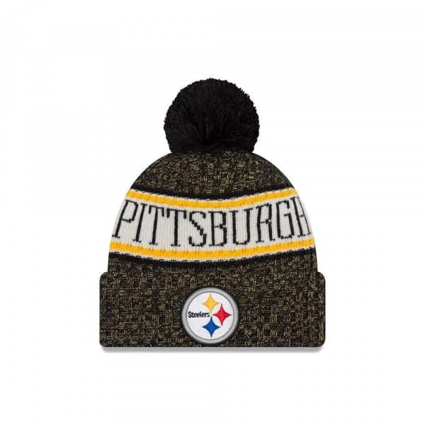 Pittsburgh Steelers 2018 Sideline Sport Knit NFL Wintermütze