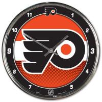 Philadelphia Flyers Chrome NHL Wanduhr