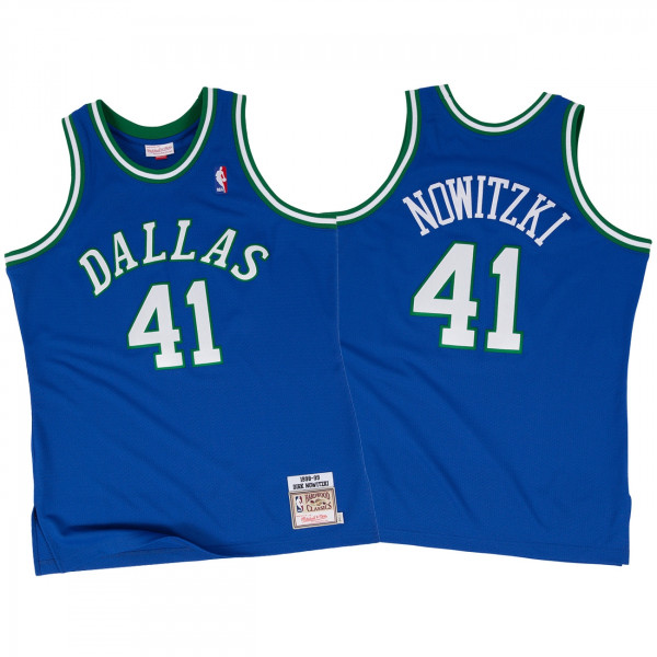 3efa7de7b Mitchell   Ness Dirk Nowitzki Dallas Mavericks 1998-99 Authentic NBA Jersey