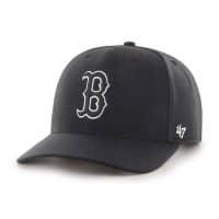 Boston Red Sox Black & White '47 Cold Zone MVP DP MLB Cap