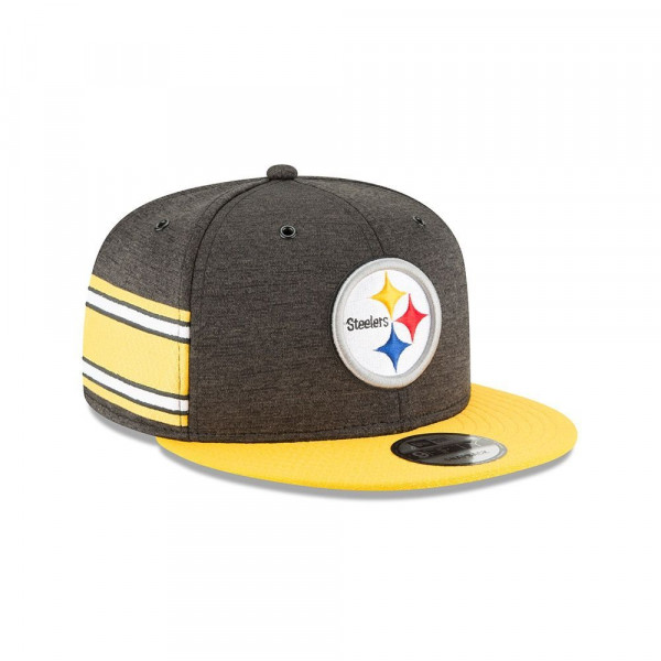 Pittsburgh Steelers 2018 NFL Sideline 9FIFTY Snapback Cap Home