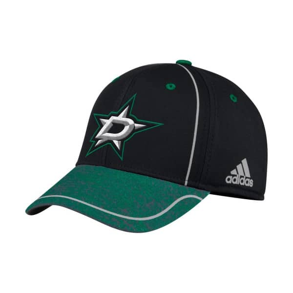 official photos ea03e dbee9 adidas Dallas Stars 2018 Alpha Stretch Fit NHL Cap   TAASS.com Fan Shop