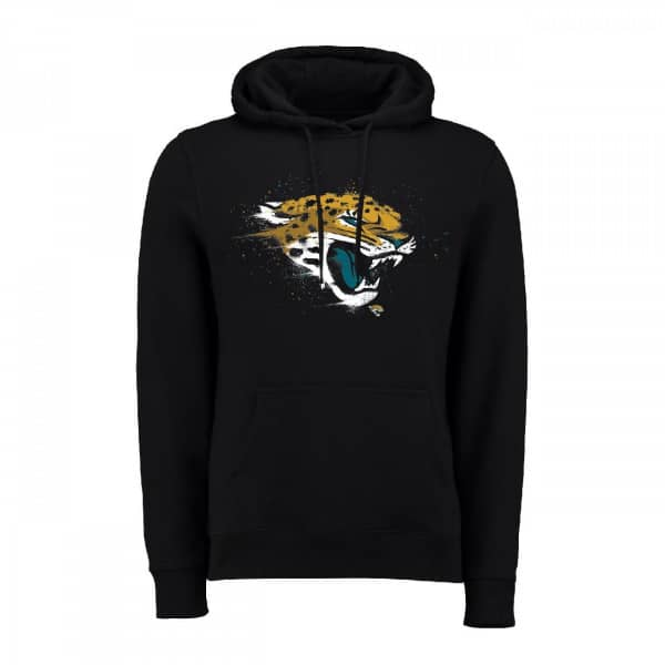 Jacksonville Jaguars Splatter NFL Hoodie
