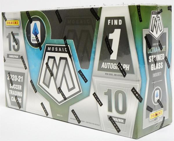 2020/21 Panini Mosaic Serie A Italia Soccer Hobby Box