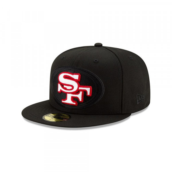 San Francisco 49ers 2.0 Logo Elements New Era 59FIFTY Fitted NFL Cap
