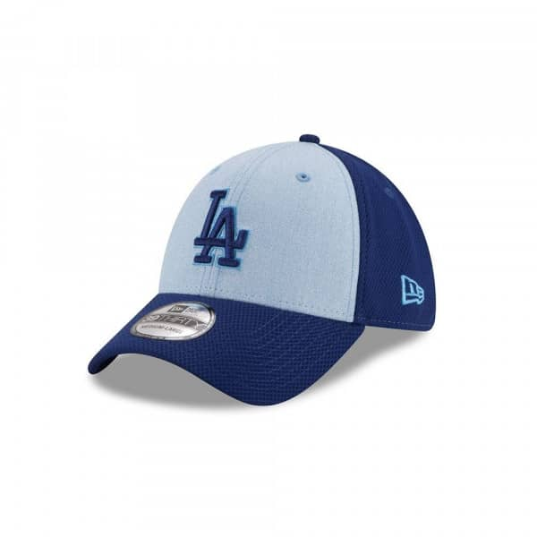 innovative design c848e 1900a New Era Los Angeles Dodgers 2018 Father s Day 39Thirty Stretch Fit MLB Cap    TAASS.com Fan Shop