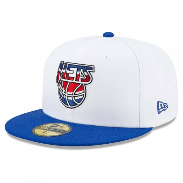 New Jersey Nets 2021 NBA Hardwood Classic Nights New Era 59FIFTY Fitted Cap