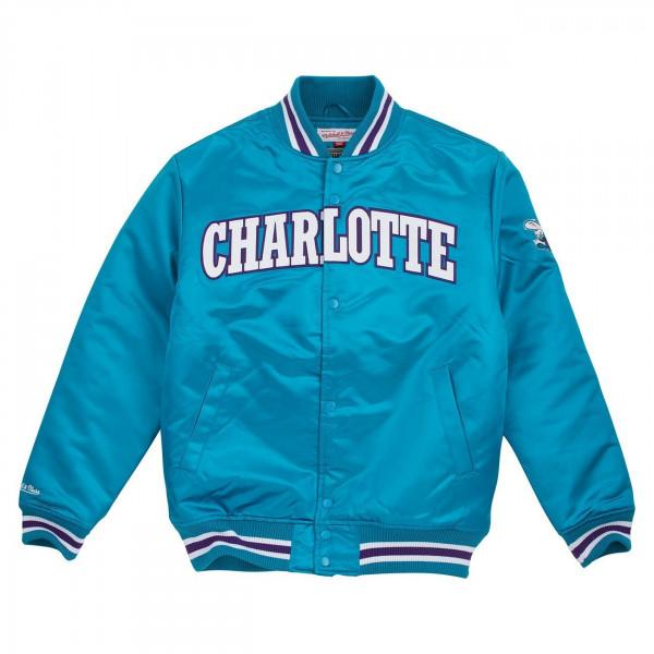 Charlotte Hornets Wordmark Satin NBA Jacke