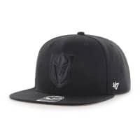 Vegas Golden Knights Black Logo Captain Snapback NHL Cap