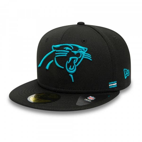Carolina Panthers Unofficial 2020 NFL Sideline New Era 59FIFTY Fitted Cap Home