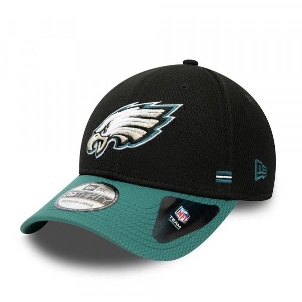 Philadelphia Eagles Unofficial 2020 NFL Sideline New Era 39THIRTY Flex Cap Home
