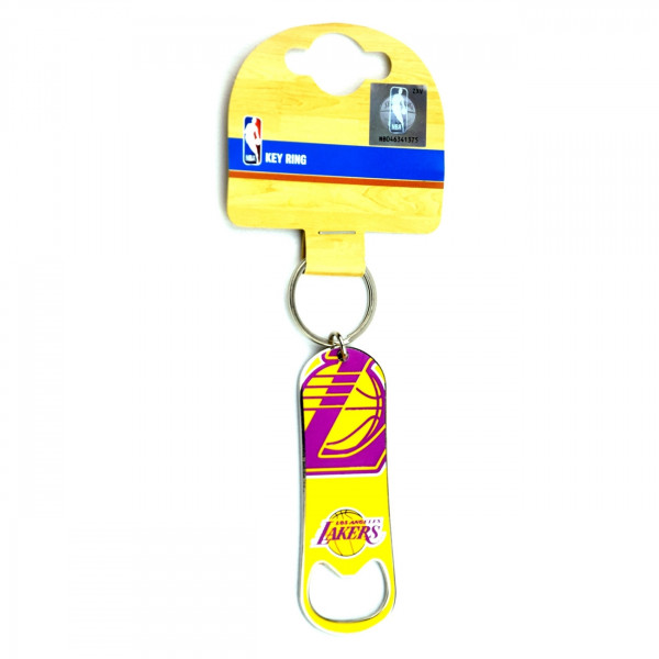 buy popular 73fc2 0554f Forever Collectibles Los Angeles Lakers Bottle Opener NBA Key Ring   TAASS.com  Fan Shop