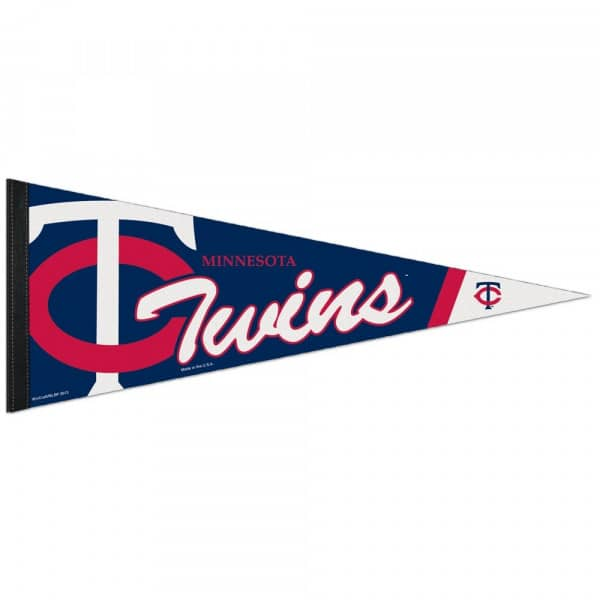 Minnesota Twins Big Logo Premium MLB Wimpel