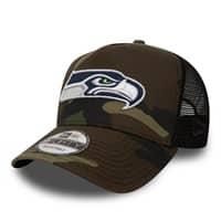 Seattle Seahawks Woodland Camo Trucker Adjustable NFL Cap